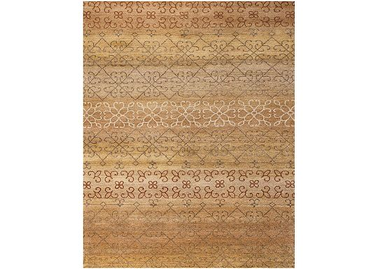 Accessories - Medora - Gold/Multi Rug - 5'6
