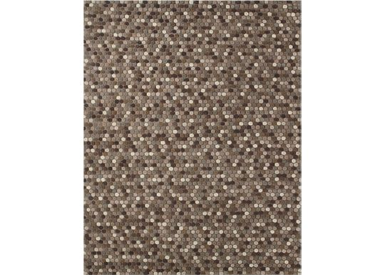 Accessories - Caralee - Beige/Brown Rug