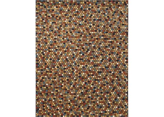 Accessories - Caralee - Brown/Multi Rug