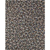Caralee - Brown/Blue Rug - 5'x8'