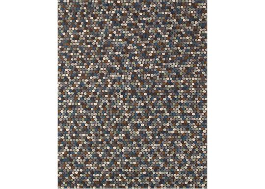 Accessories - Caralee - Brown/Blue Rug