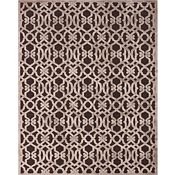 Coolidge - Dark Chocolate/Gray Rug - 5'3