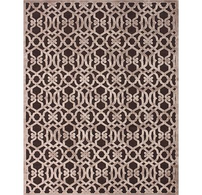 Accessories - Coolidge - Dark Chocolate/Gray Rug