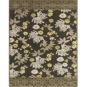 Unity - Dark Gray/Green Rug - 5'3