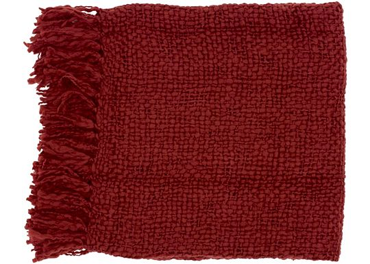 Accessories - Devon Throw - Burgundy