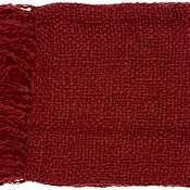 Devon Throw - Burgundy