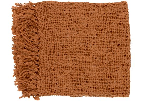 Accessories - Devon Throw - Rust