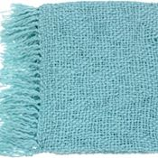 Devon Throw - Spa Blue