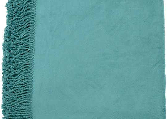 Accessories - Tamin Throw - Teal