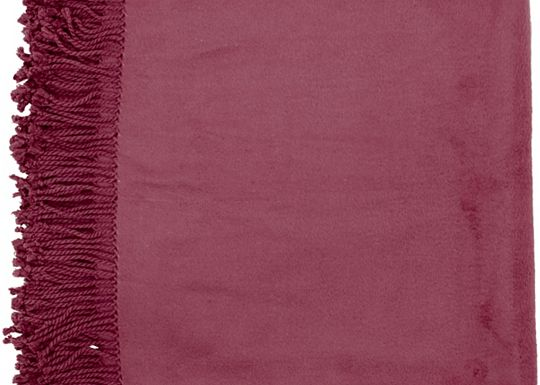 Accessories - Tamin Throw - Plum