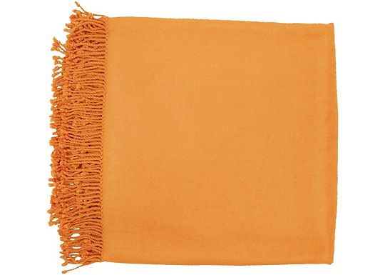 Accessories - Tamin Throw - Pumpkin