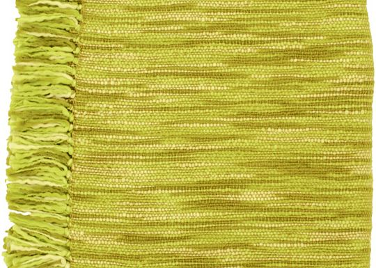 Accessories - Barlow Throw - Citrus Green/Ivory