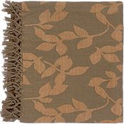 Satara Throw - Brown/Camel