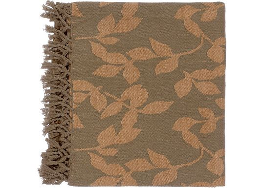 Accessories - Satara Throw - Brown/Camel
