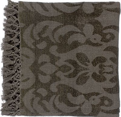 Accessories - Tivoli Throw - Gray/Plum