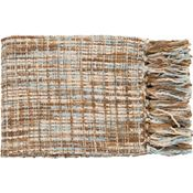 Normandy Throw - Sky/Beige/Khaki