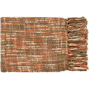 Normandy Throw - Rust/Ivory/Dark Green