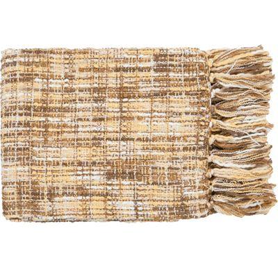 Accessories - Normandy Throw - Yellow/Beige/White