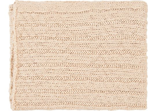 Accessories - Napa Throw - Ivory
