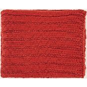 Napa Throw - Rust Red