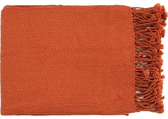 Accessories - Cunningham Throw - Pumpkin