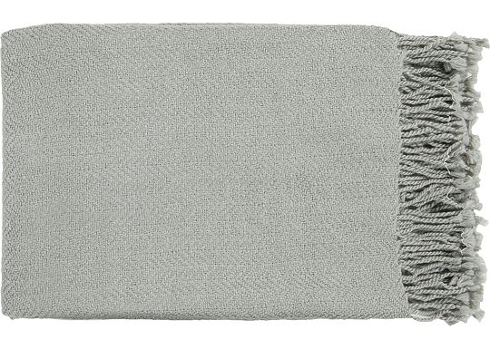 Accessories - Cunningham Throw - Light Gray