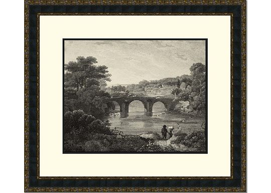 Accessories - Antique Black Canoby Bridge