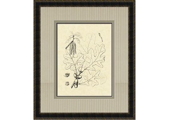 Accessories - Antique Oak Leaves III