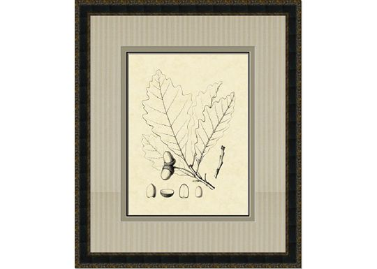 Accessories - Antique Oak Leaves IV