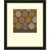 Set of 2 Custom Forest Motif (Brown)