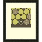 Set of 2 Forest Motif (Green)