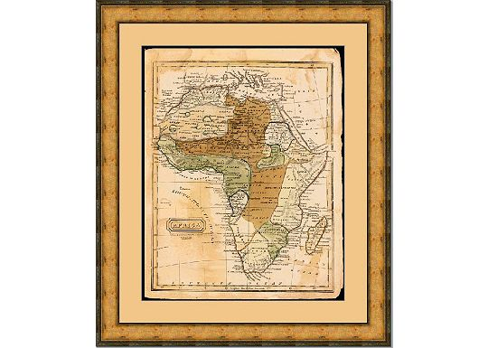 Accessories - Map of Africa