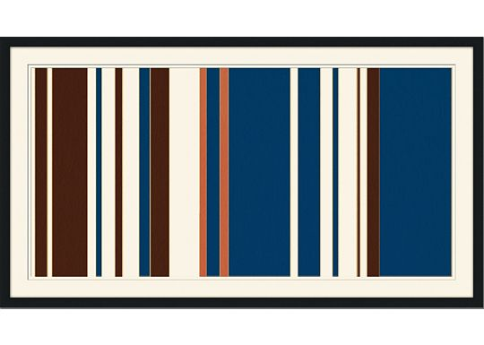 Accessories - Mod Pinstripe 1 - Orange, Navy, Chocolate