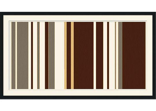 Accessories - Mod Pinstripe 3 - Grey, Chocolate, Dijon
