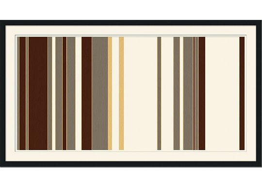 Accessories - Mod Pinstripe 4 - Grey, Chocolate, Dijon