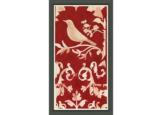 Accessories - Nature Silhouette on Linen I