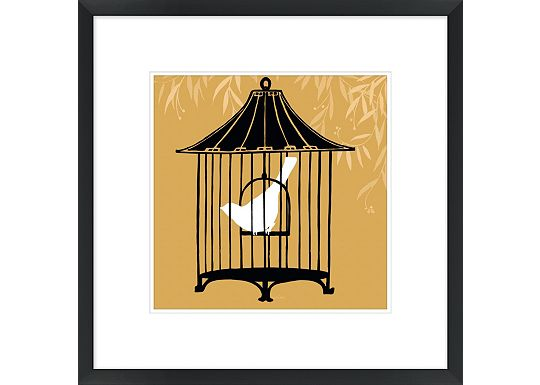 Accessories - Birdcage Silhouette I