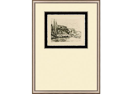 Accessories - English Countryside Etching I