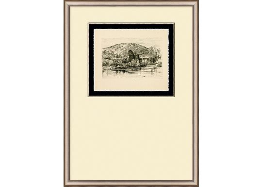 Accessories - English Countryside Etching III