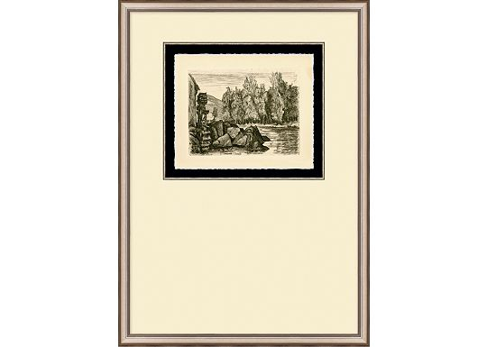 Accessories - English Countryside Etching V