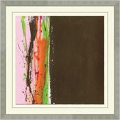 Abstracts in Pink and Brown A
