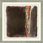 Abstracts in Pink and Brown B
