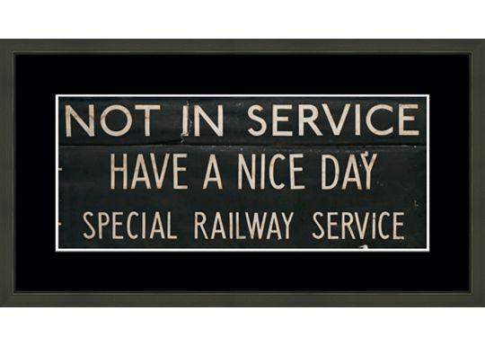 Accessories - London Train Stop Details A