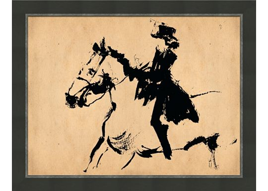 Accessories - Large English Horse Sketch