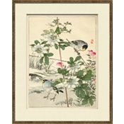 Asian Garden Etchings A