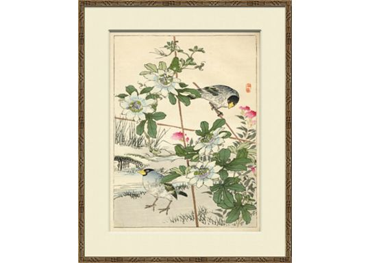 Accessories - Asian Garden Etchings A