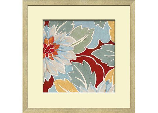 Accessories - Small Vintage Floral Textile Design B