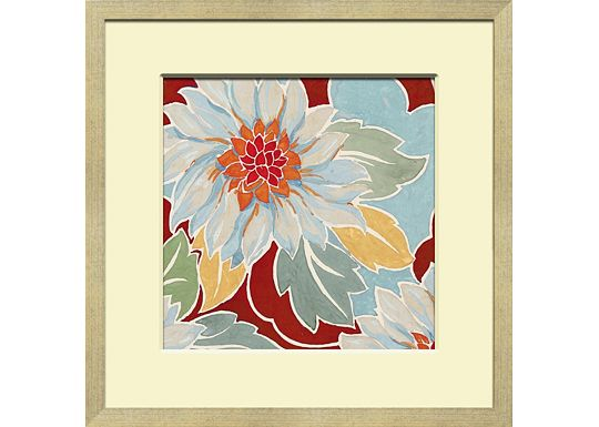 Accessories - Small Vintage Floral Textile Design C