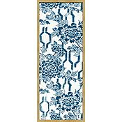 Indigo Blue Designs for Kimono in White B
