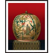 Design for Asian Vases A